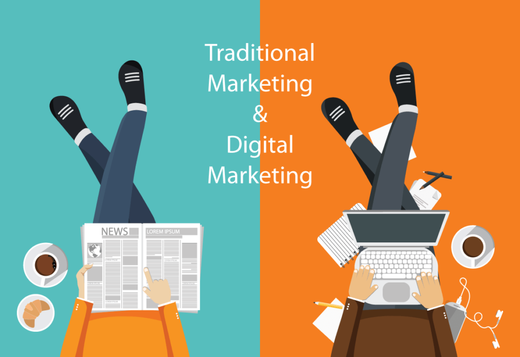 Traditional Marketing Versus Digital Marketing
