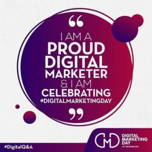 I am a proud Digital Marketer