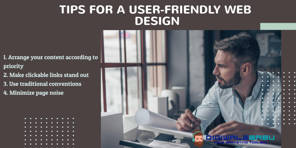 4 Best Tips For User-Friendly Website Design